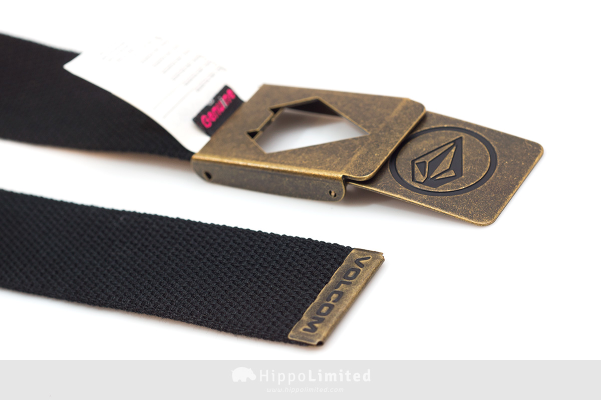 Volcom Circle Web Belt - Stealth