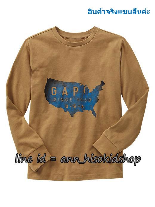 1854 Gap Kids Graphic Short Sleeve ขนาด 14-16 ปี
