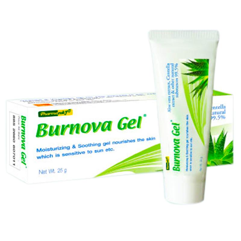 Pharmacok'f Burnova gel plus 25 g ฟาร์มาค็อกฟ์ เบอร์นโนว่า เจล พลัส 25 กรัม