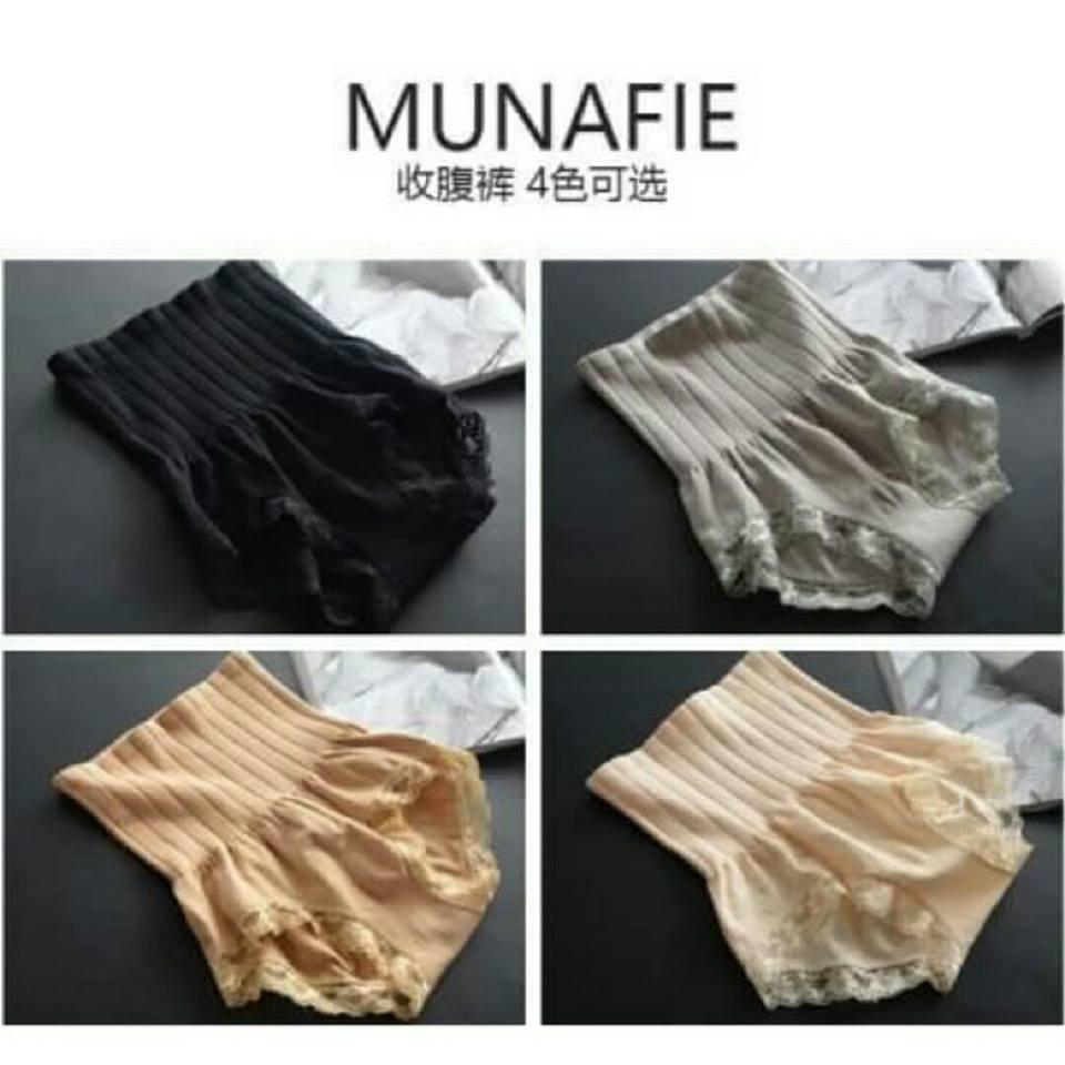 กางเกงในพุงหายภายใน 3 วิ กางเกงในญี่ปุ่น MUNAFIE