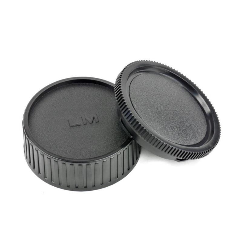 Leica M LM Rear Lens Cap ฝาปิดท้ายเลนส์ + Body Cap ฝาปิดบอดี้