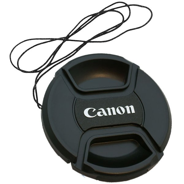 Canon Lens Cap ฝาปิดหน้าเลนส์ แคนนอน ขนาด 49 52 55 58 62 67 72 77 mm.