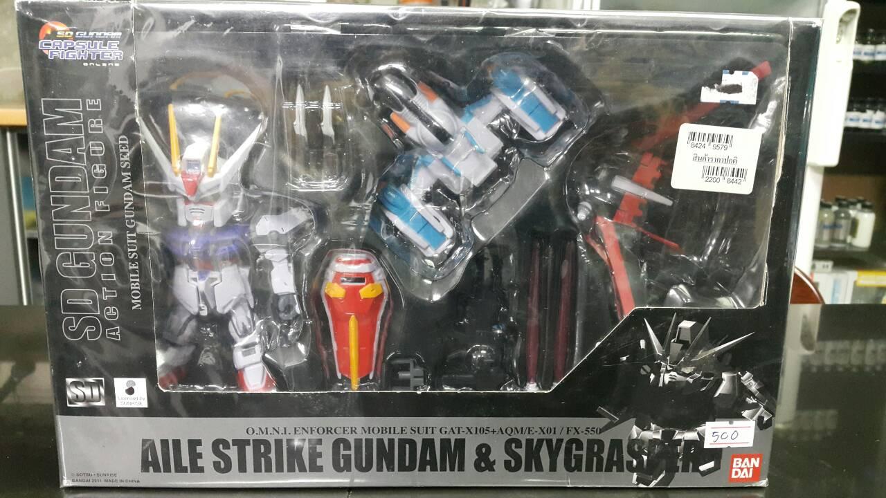 มี1 รอเมล2ยืนยันก่อนโอน )กล่องเก่า sd go aile strike gundam&skygrasper