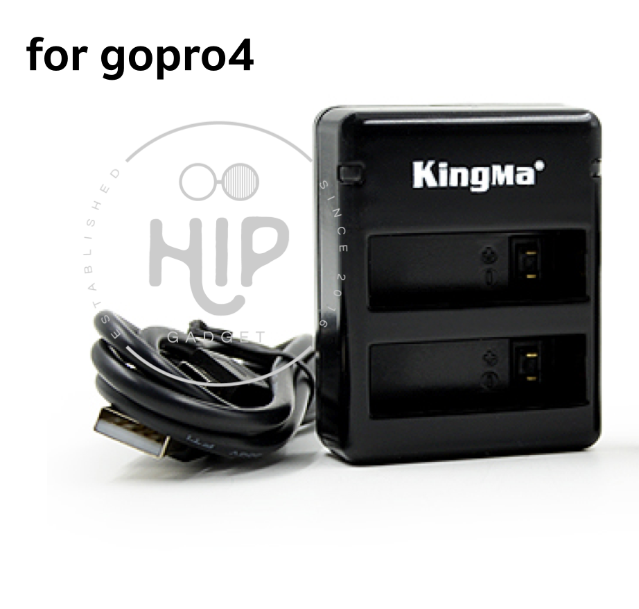 Kingma charger 2 slots for gopro4