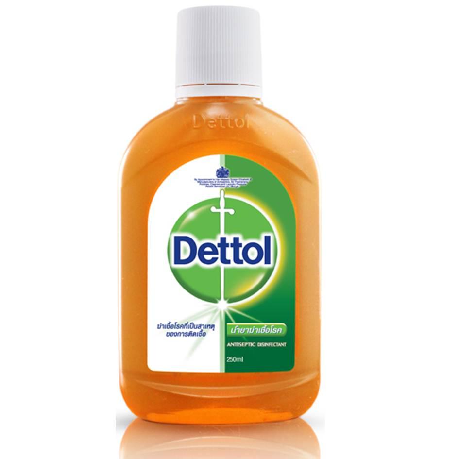 เดทตอล น้ำยาฆ่าเชื้อโรค ตัวยาคลอโรไซลีนอล 250 มล.