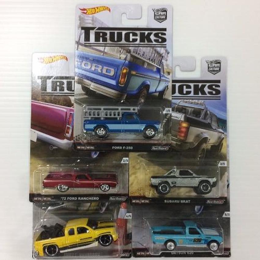 Hot Wheels Car Culture Trucks จัดเซท 5 คัน(Black)
