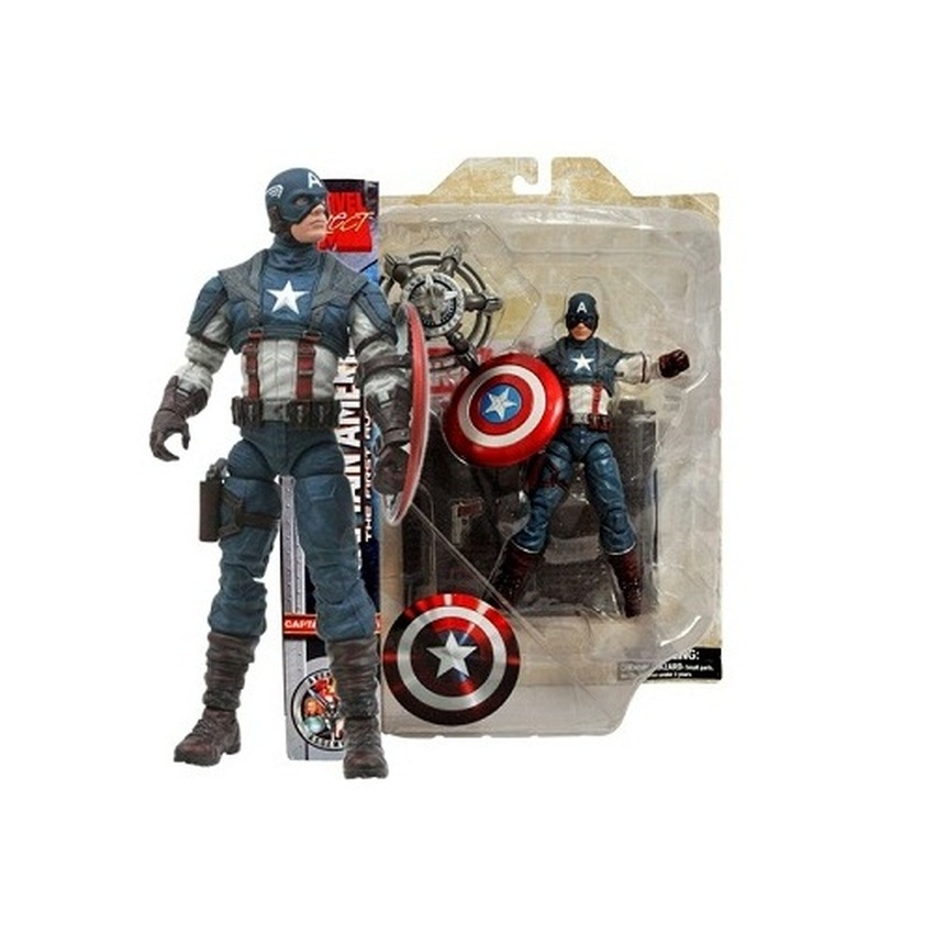 Marvel Heroes MARVEL SELECT : THE FIRST AVENGER CAPTAIN AMERICA