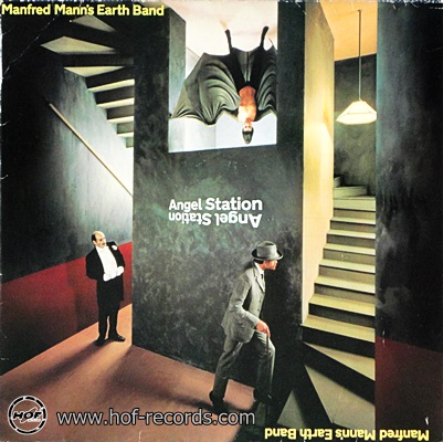 Manfred Mann's Earth Band - Angel Station 1979 1lp
