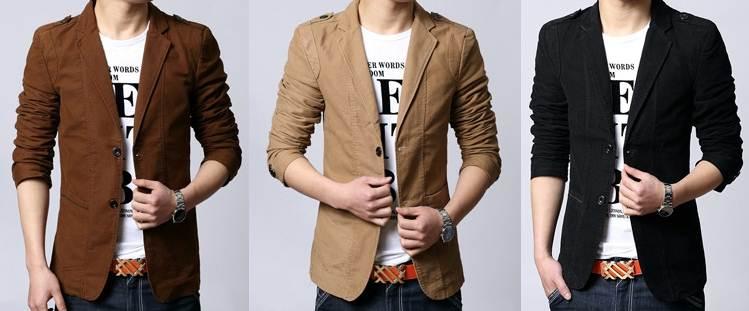 เสื้อสูทแฟชั่นผู้ชายแต่งบ่า Size No.37 39 41 43 45