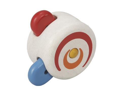 ของเล่นไม้ ของเล่นเด็ก ของเล่นเสริมพัฒนาการ Peek-a-boo Roller ลูกกลิ้งผลุบโผล่ (ส่งฟรี)