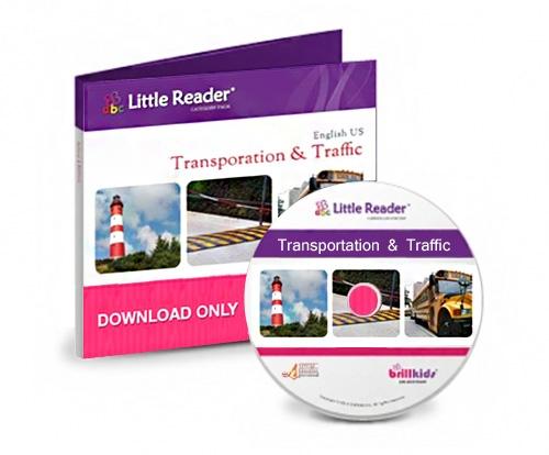 บทเรียนเพิ่มเติม เสริมพัฒนาการเด็ก Transportation and Traffic Category Pack