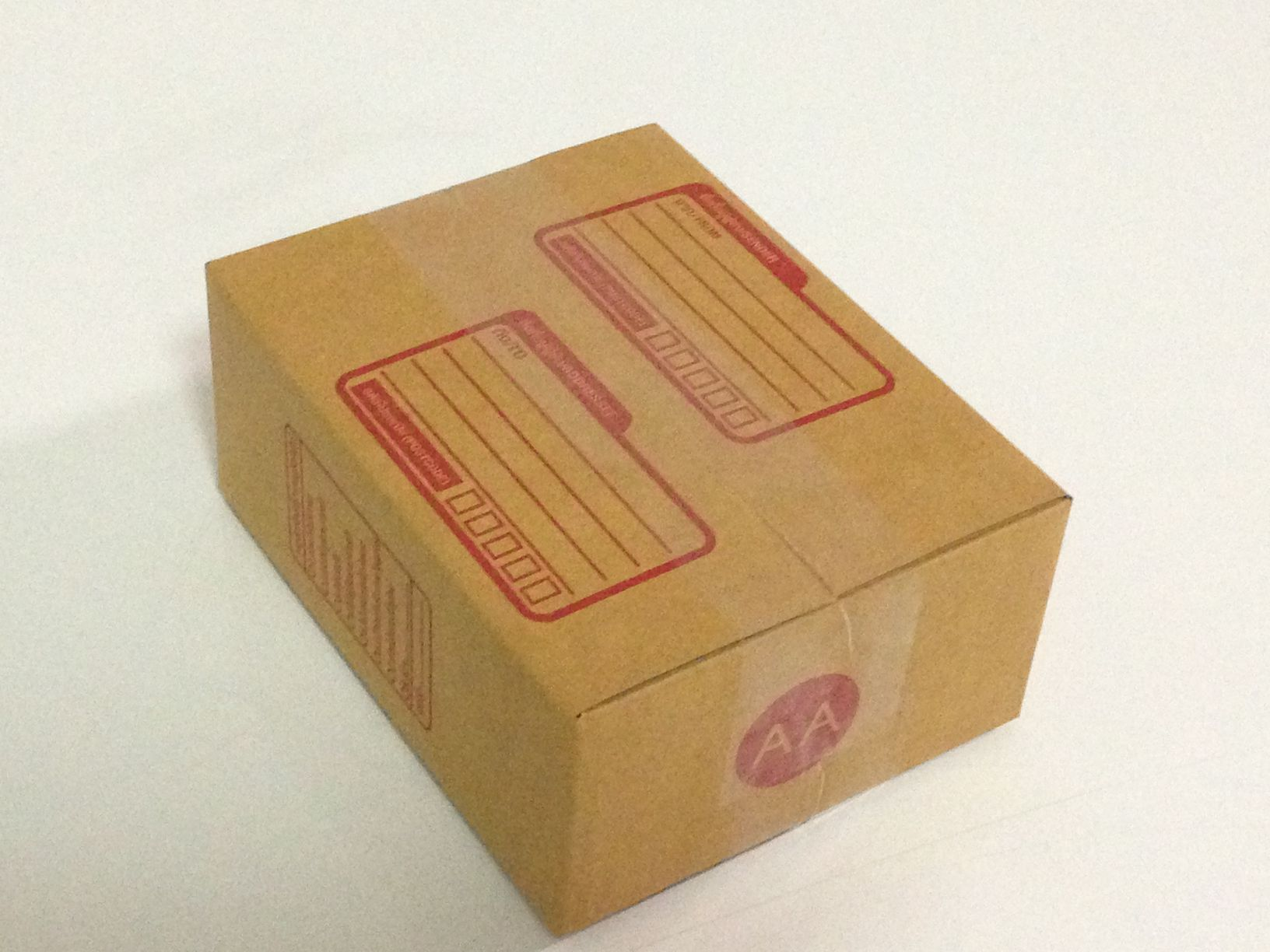 กล่องไปรษณีย์ฝาชน เบอร์ AA ขนาด 13x17x7 เซน
