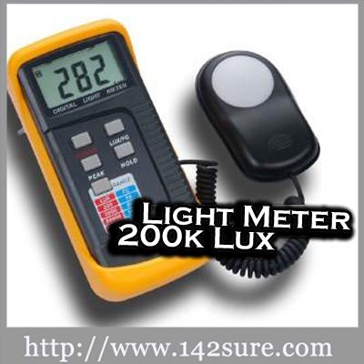 LX1330B เครื่องวัดแสง ความสว่างแสง 200,000 ลักซ์ Light Meter 200k Lux