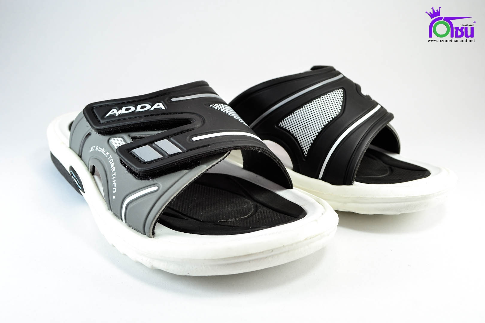 รองเท้าแตะ ADDA รุ่น 2N28 สีเทา เบอร์ 4-9 สำเนา