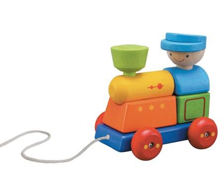 ของเล่นไม้ ของเล่นเด็ก ของเล่นเสริมพัฒนาการ Sorting Train (ส่งฟรี)