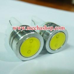 LFC011 ไฟหรี SMD T10 หัวเรียบ-ขอบเรียบ 1W. (จำนวน1คู่ สีขาว) ยี่ห้อ OEM รุ่น