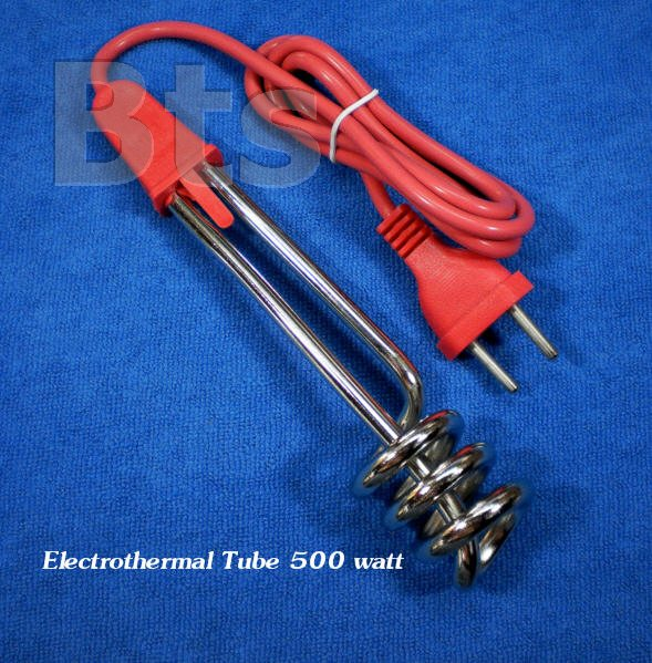 เครื่องทำน้ำร้อนแบบจุ่ม (Electrothermal Tube) 500 วัตต์