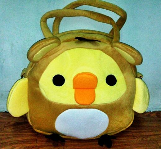 กระเป๋าสะพายถื้อได้สะพายได้ ไก่โทริ (มาใหม่ล่าสุด)