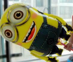 ลูกโป่งฟลอย์ Minion สองตา - Minion Two eyed Foil Balloon / Item No.TL-A044