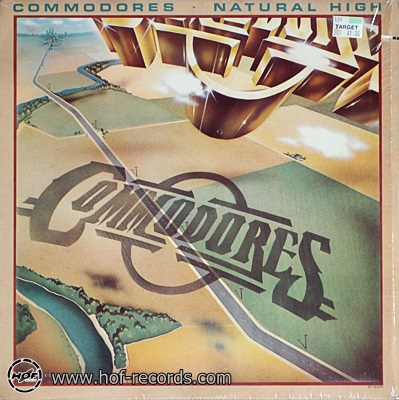 Commodores - Natural High 1978 1lp