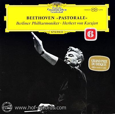 Herbert Von Karajan - Beethoven Pastorale 1lp
