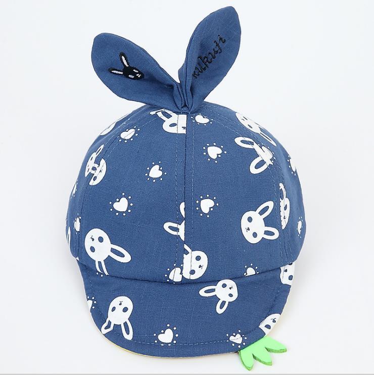 หมวก สีน้ำเงิน แพ็ค 5ใบ ไซส์รอบศรีษะ 48-50cm