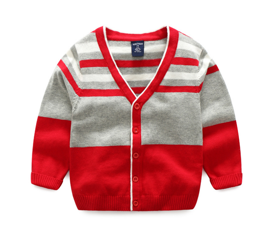 เสื้อ สีแดง แพ็ค 5 ชุด ไซส์ 110-120-130-140-150
