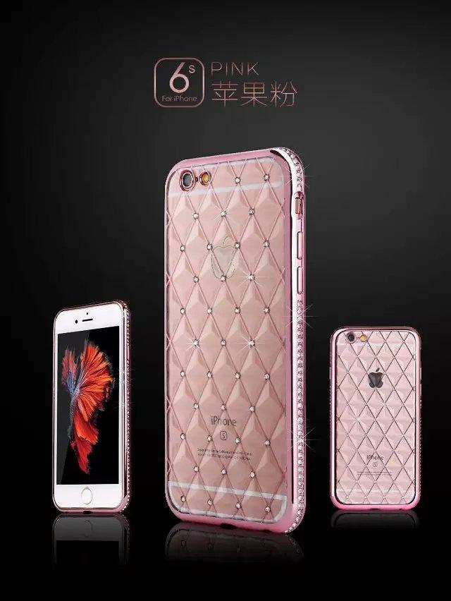 เคสขอบเพชรลายตาราง ซัมซุง เจ 7(ขอใช้รูปภาพไอโฟน 6 แทน)
