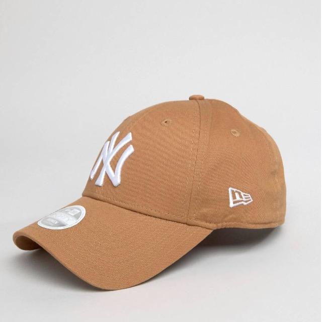 หมวก NEW ERA 9Forty Cap NY สีน้ำตาล