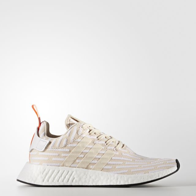 adidas Originals NMD R2 Primeknit Color Linen/Footwear White