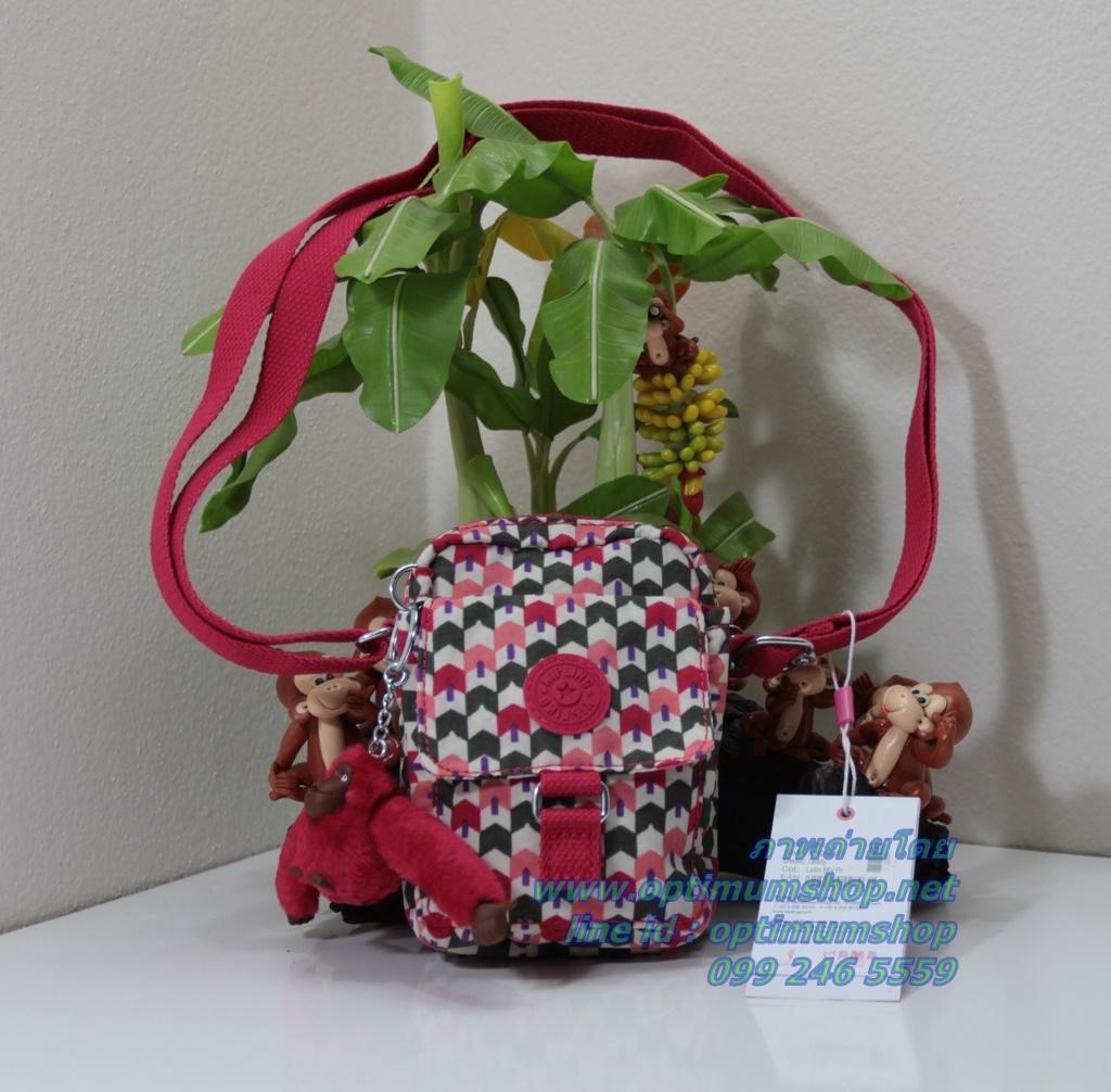 Kipling Teddy Latin Mix Pr ใบเล็กๆ mini bag ขนาด 10 L x 14 H x 6.5 W cm