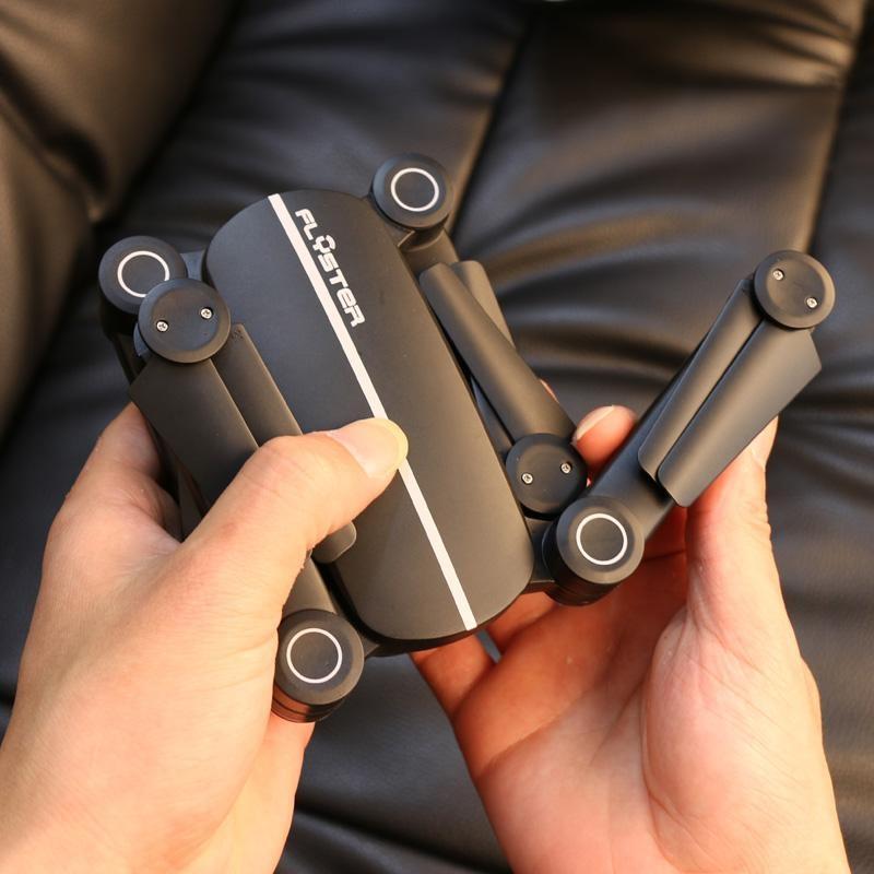 โดรนติดกล้อง Flyster Q9 Skyhunter Z0 พับขา RC FPV ส่งสัญญาณภาพวีดีโอถ่ายทอดสดความละเอียด 720P แบบ Real Time