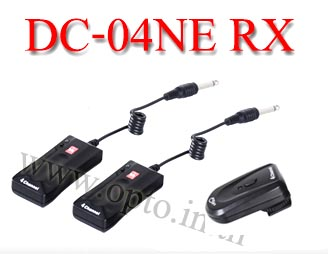 Wireless Flash Trigger DC-04A Studio AC Supply set 2 Receiver