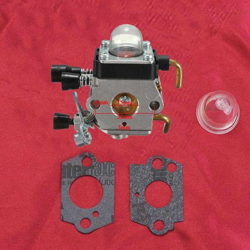 Carburetor Gasket Bulb For Stihl FS38 HS45 FS45 FS46 FS55 FC55 FS55EZ FS75 FS80 FS85 KM55 KM85 ZAMA C1Q SERIES Carb