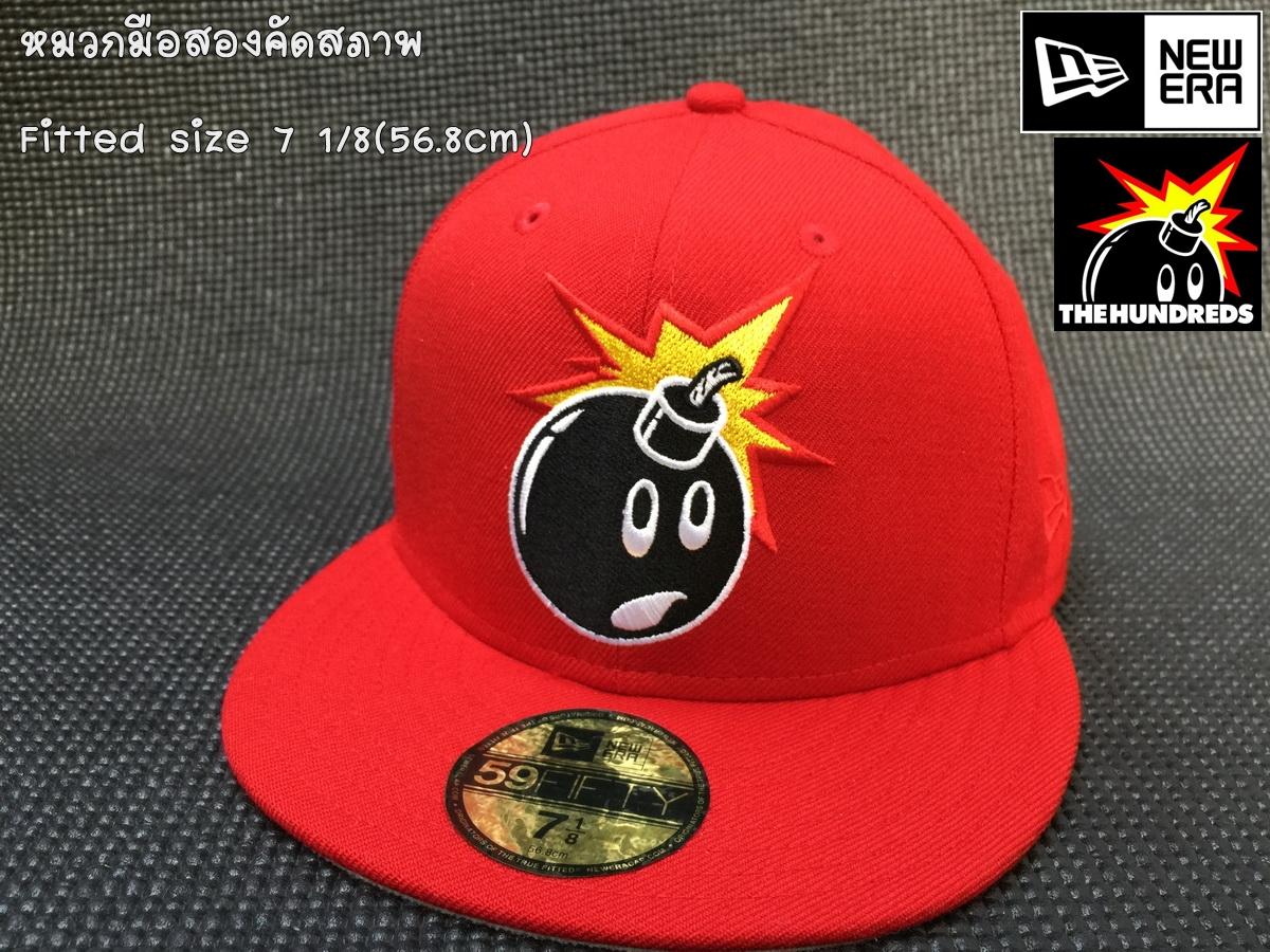 หมวก New Era The Hundreds Adam Bomb 59fifty size 7 1/8(56.8cm)