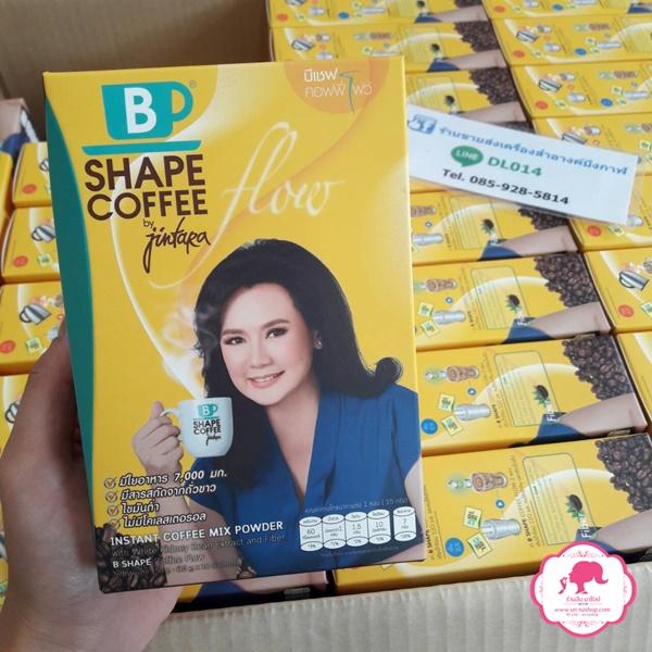 B Shape Coffee Flow บีเชฟ คอฟฟี่ by จินตหรา สูตรไฮไฟเบอร์และถั่วขาว