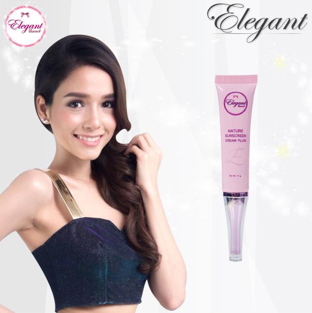 Elegant Nature Sunscreen Cream Plus SPF 50+++ 15 ml.