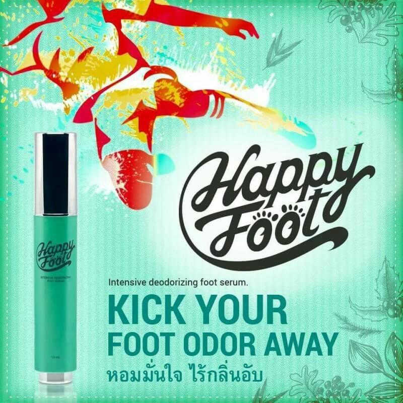 Happy Foot Serum แฮปปี้ ฟุต เซรั่ม ปริมาณสุทธิ 10 ml.