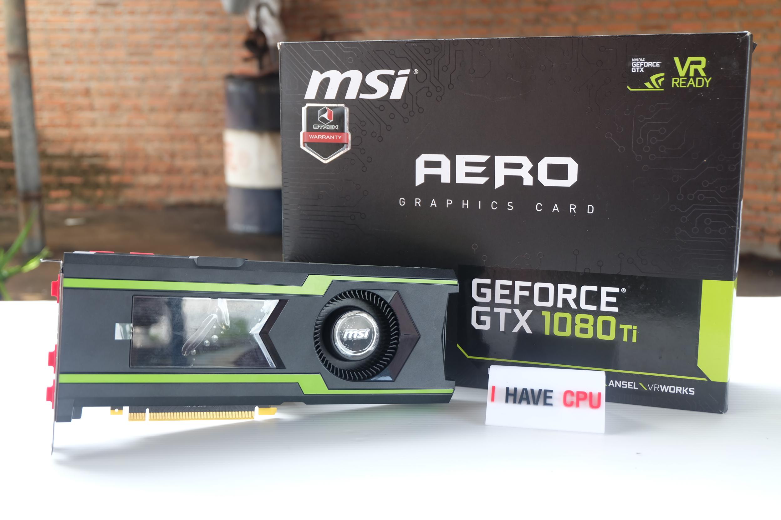 MSI GTX 1080 Ti 11GB AERO OC