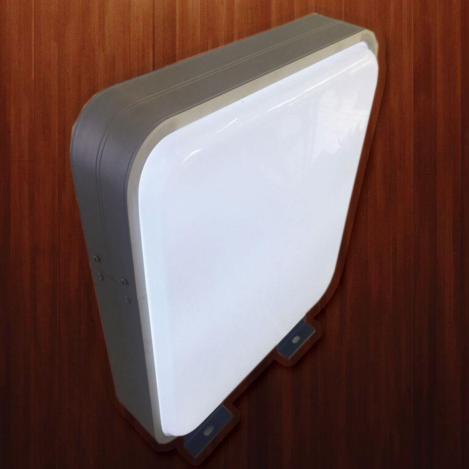 ตู้ไฟปั๊มนูนสี่เหลี่ยม ขนาด 43 x 43 cm (ราคารวม สติ๊กเกอร์)