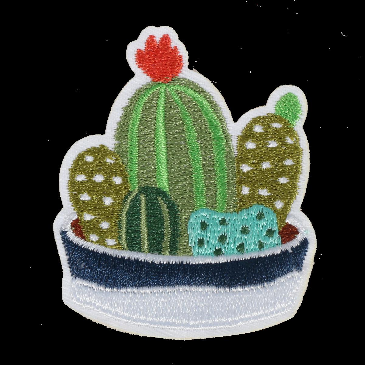 M0087 Cactus Family 5.6x6.7cm