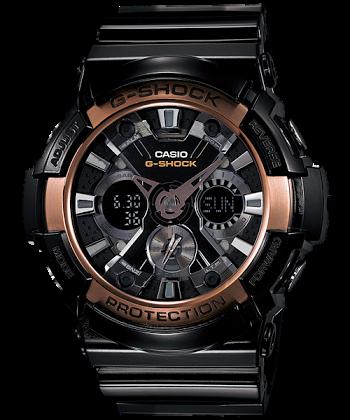 นาฬิกา CASIO G-SHOCK รุ่น GA-200RG-1A ROSEGOLD SPECIAL COLOR SERIES ของแท้ รับประกัน 1 ปี