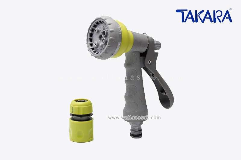 ปืนฉีด 7 รูปแบบ (พลาสติก) TAKARA (DGT2006)