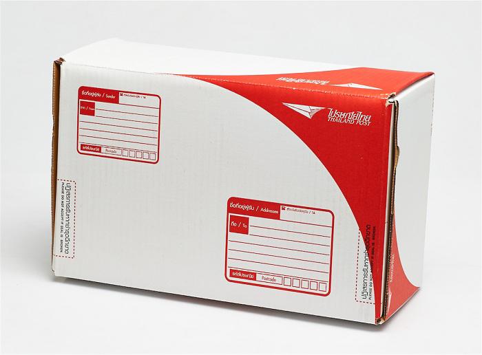 กล่องไปรษณีย์ไดคัท (สำหรับลูกค้าที่สั่งสินค้าเล่มเดียวแล้วต้องการใส่กล่อง)