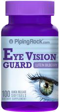 บำรุงสายตา ปกป้องดวงตาจากคลื่นแสงสีน้ำเงิน (ลูทีน ซีแซนทิน+สารสกัดบิลเบอร์รี่ ) 100 Softgels