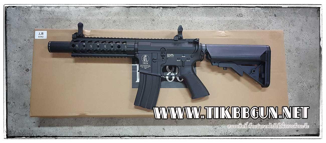 ปืนอัดลมไฟฟ้า M4 จาก E & C รุ่น 802S