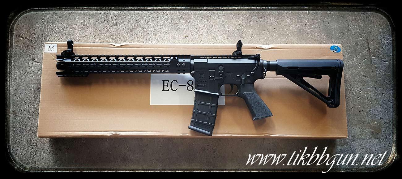 ปืนอัดลมไฟฟ้า M4 จาก E & C รุ่น 824S