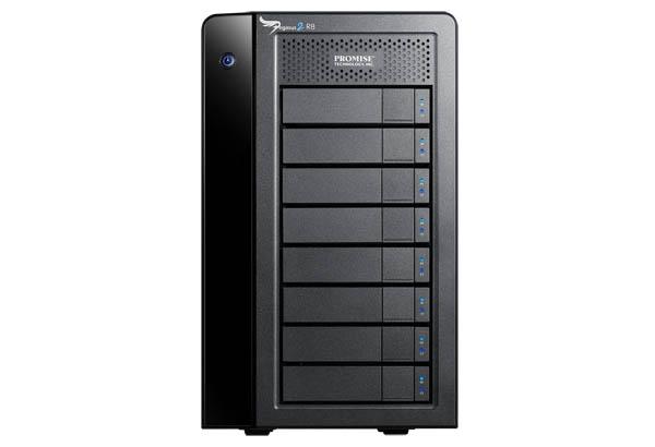 Pegasus2 R8 32TB (8 x 4TB) Thunderbolt 2 RAID