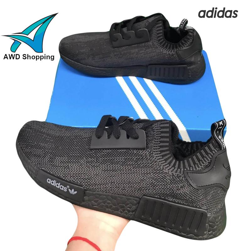 รองเท้าผ้าใบ Adidas NMD TOP สีดำ