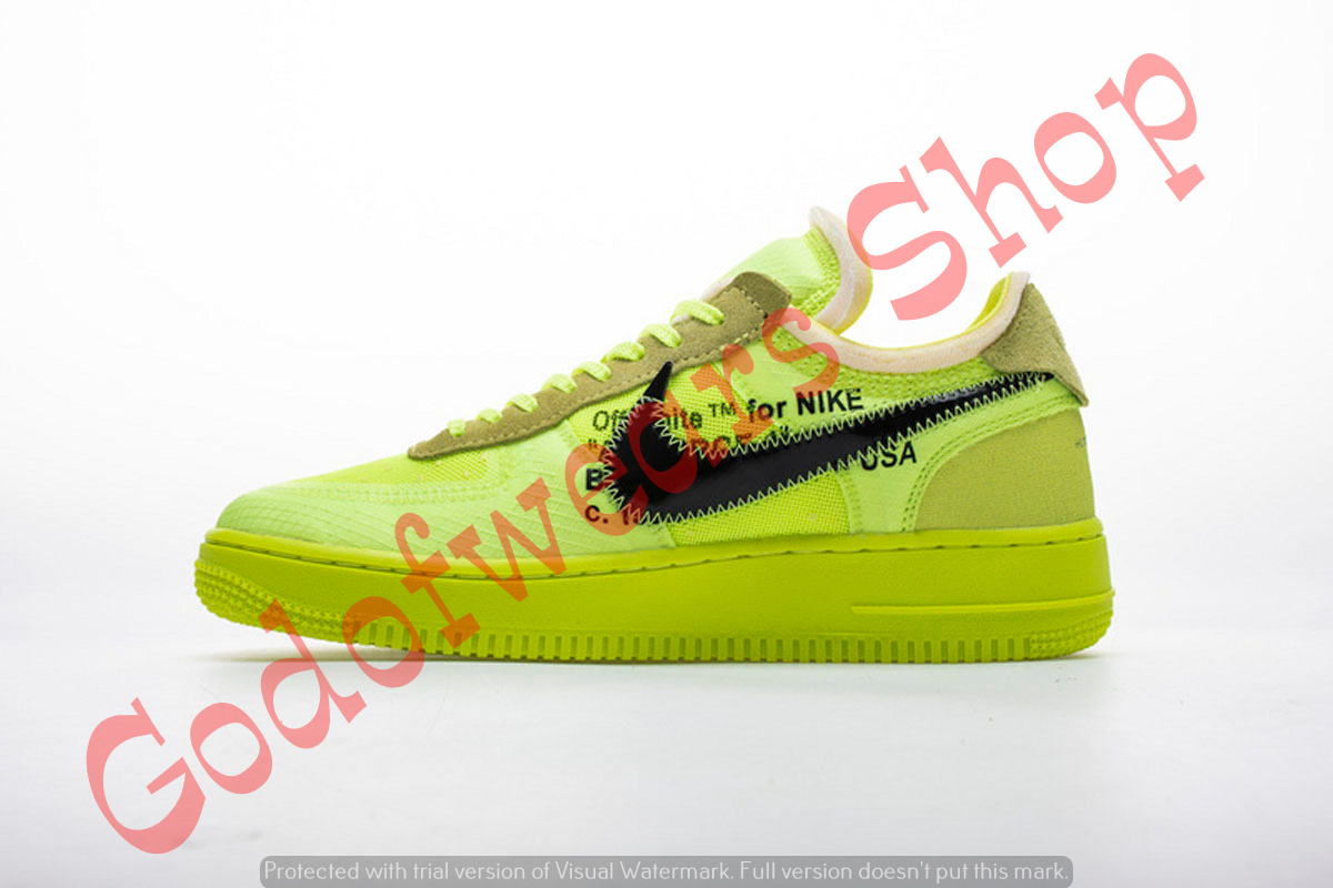 White Og 1 Off Volt Force Nike Low Air 0wO8knP